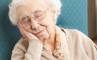 Бессонница у пожилых — лечение эффективными народными средствами и медикаментами
