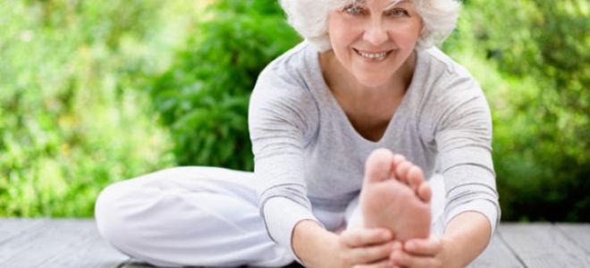 Йога для пожилых людей