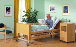 Выбор кровати для лежачих больных — критерии, виды и функции