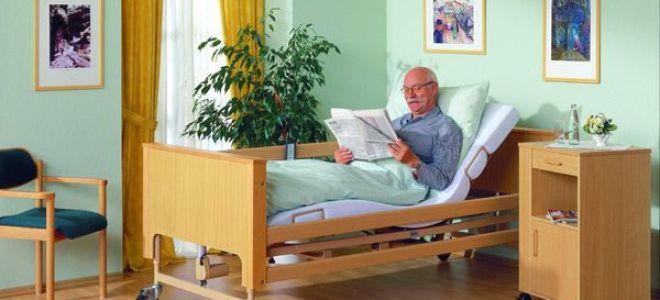 Выбор кровати для лежачих больных