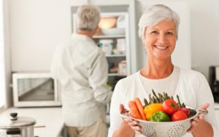 Питание в пожилом возрасте — рекомендации докторов и примерный недельный рацион